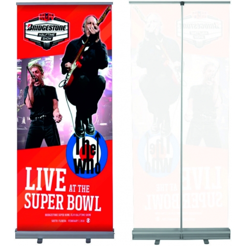 Roll Banner - Roll-Up 85x200